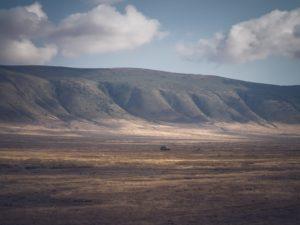 Il cratere del Ngorongoro