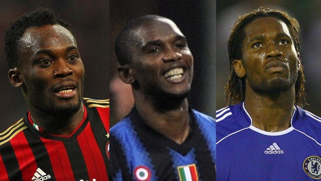 calciatori africani