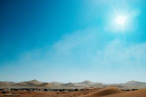 namibia clima