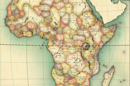 Una mappa dell'Africa se non fosse stata colonizzata